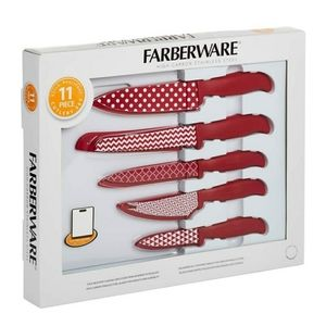Farberware 11 Pcs with Cutting Board